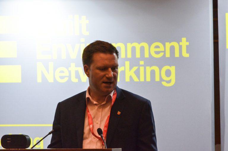 Callum Ferguson cogress at London Development Plans 2018