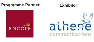 Athene Communications Encore Estates Management Estate Development Build Partner Logos Sponsors Exhibitor Brand Awareness Business Development