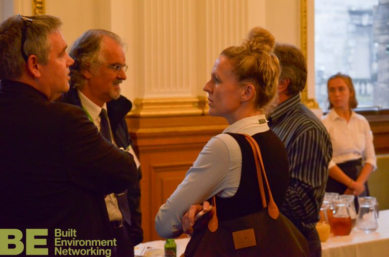 Edinburgh Development Plans 2018 Craig Sanderson Link Housing Networking Event City Chambers