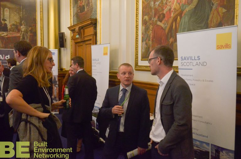 Edinburgh Development Plans 2018 Savills Networking at the City Chambers