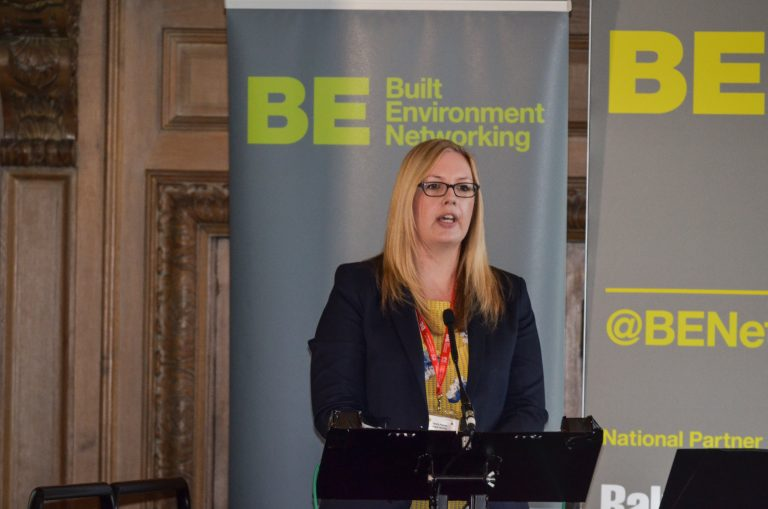 Jenny Purple of Avant Homes speaks at Leeds & West Yorkshire Development Plans