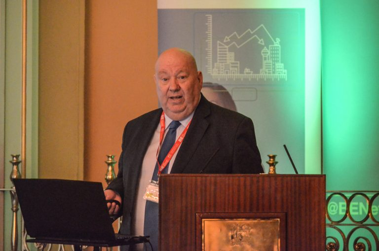 Joe Anderson of Liverpool City Council speaks at Liverpool Development Plans 2018