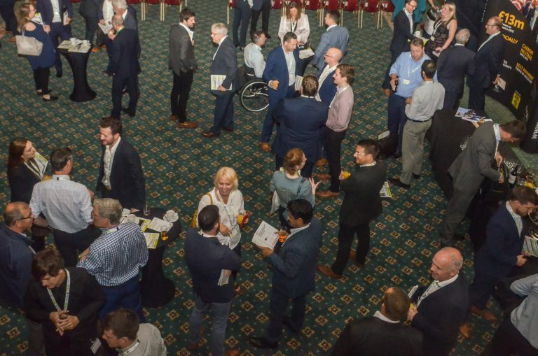 Leeds City Region Development Plans 2019 The room beginning to fill up
