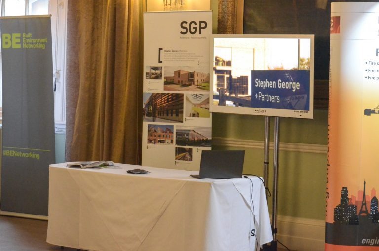 Leicester Construction Property Networking Event Stephen George Partners Sponsorship Exhibitor