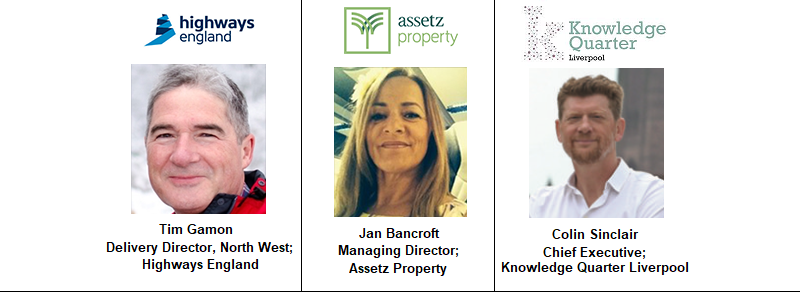 Jan Bancroft Assetz Property Knowledge Quarter Liverpool Merseyside Highways England North West