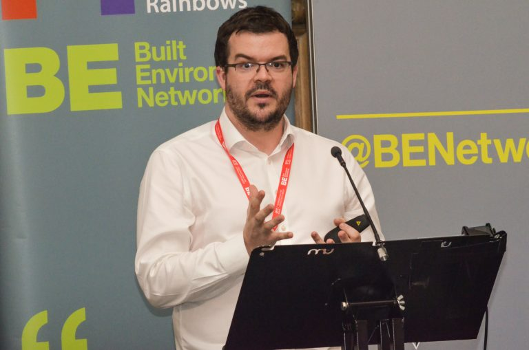 Mark McKay of Network Rail at Leeds City Region Development Plans 2019