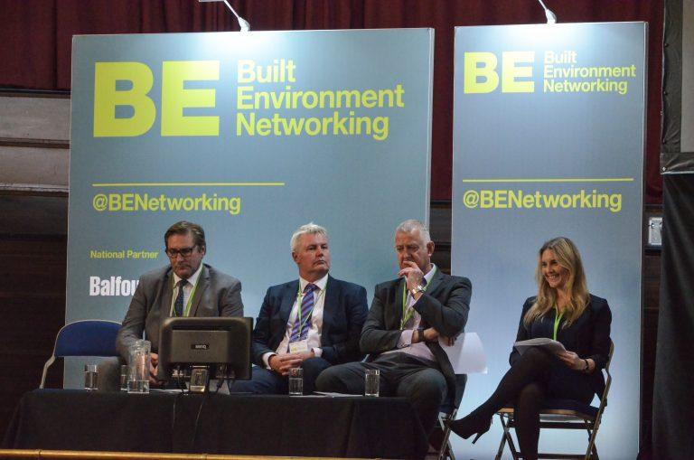Mayor James Palmer, Rob Hall, Tony Tann and Vicky Chipp at Cambridge Development Plans 2018