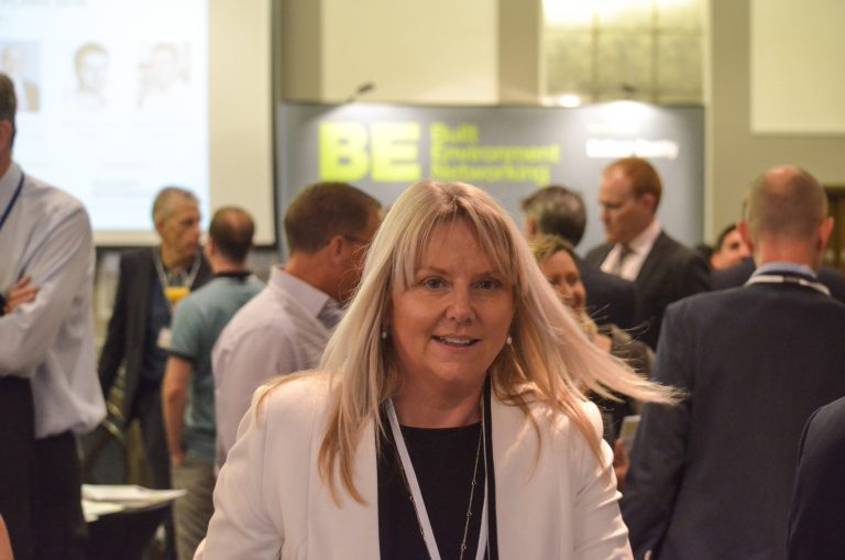 Michelle McKechnie at Built Environment Networkings Bournemouth Development Plans 2018