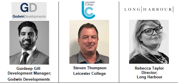 Steven Thomson Image Leicester College Skills Education Construction Property Workforce Long Harbour Godwin Developments Landmark