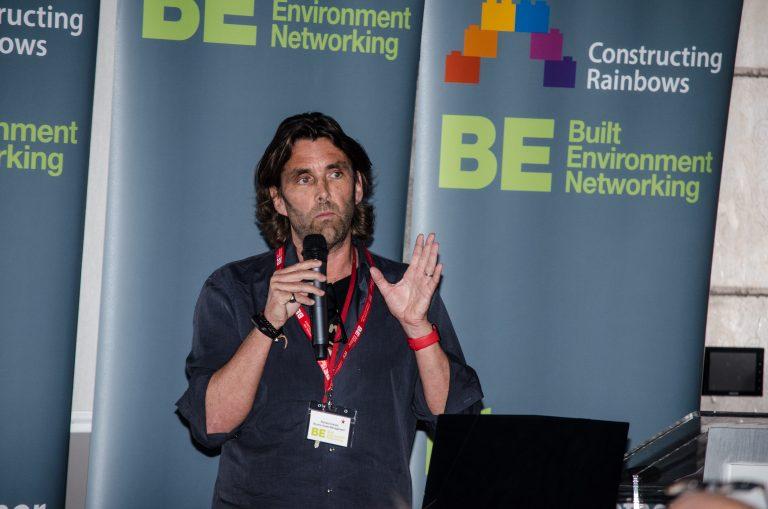Richard Davies conveys a point at Bournemouth Development Plans 2019