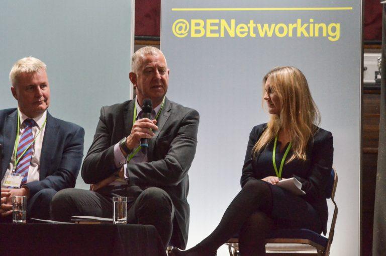 Rob Hall, Tony Tann and Vicky Chipp at Cambridge Development Plans 2018