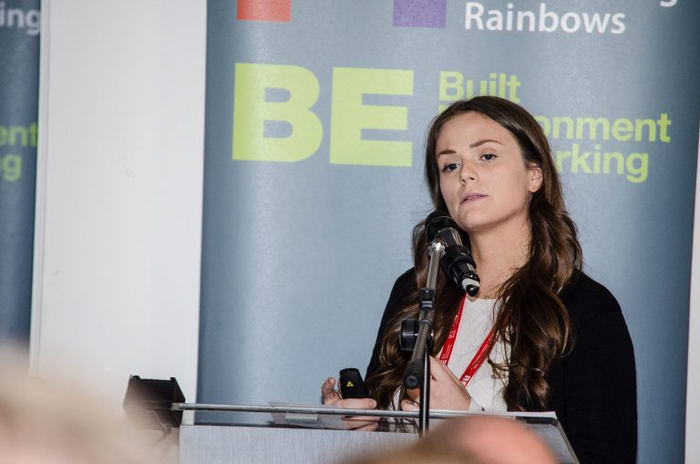 Rosey Cassidy of Cassidy Group speaks at East Midlands Development Plans 2019