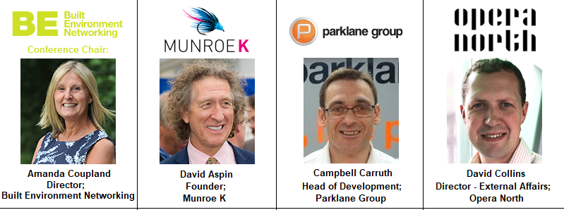 Speakers Opera North Parklane Group Munroe K White Rose Office Landsec Campbell