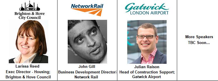 Gatwick Julian Raison Airport London Network Rail John Gill Brighton City Hove Council