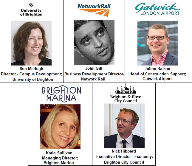 Speakers Brighton Event University Marina Network Rail