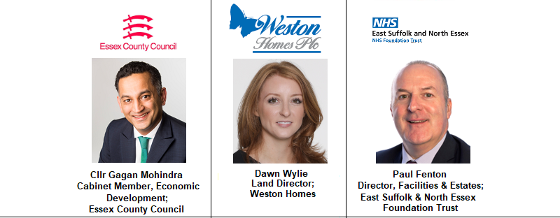 Paul Fenton ipswich Suffolk Essex NHS Estates Dawn Weston Homes Residential COunty Council