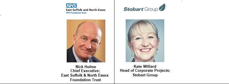Nick Hulme North Suffolk East Essex Foundation NHS National Health Service FM Facilities Management Kate Willard Stobart Group