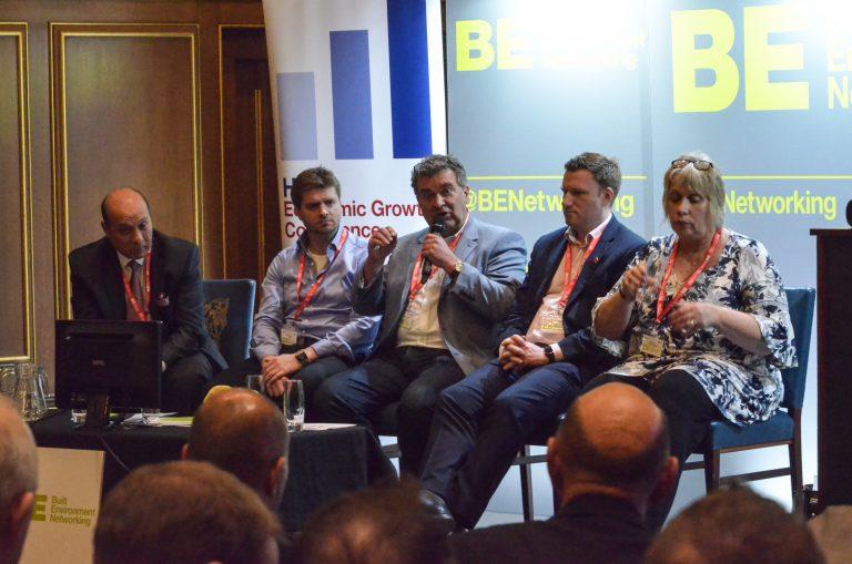Surinder Arora, Callum Ferguson, Becky Ivers, Nick McGough and Alistair Lenczer