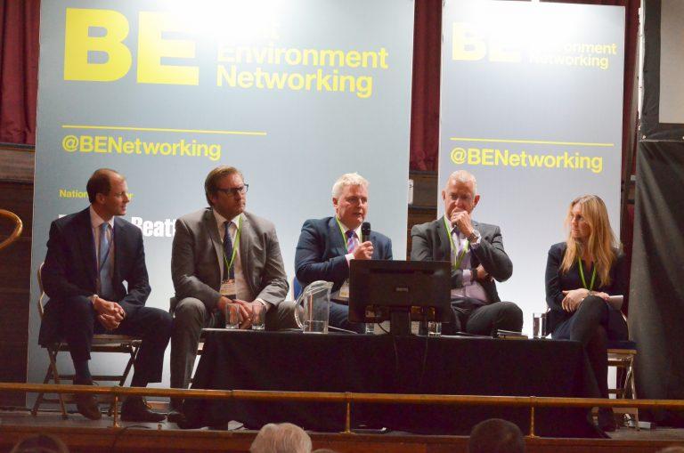 Tony Tann, Rob Hall, Vicky Chipp , Andrew Taylor and Mayor James Palmer at Cambridge Development Plans 2018