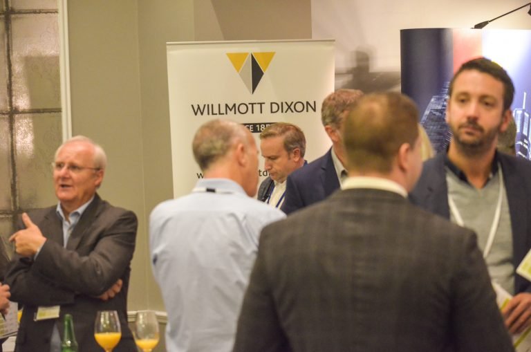 Willmott Dixon Partnered networking event Bournemouth Development Plans 2018