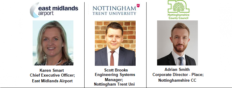 Nottingham East Midlands Airport Trent University Estates
