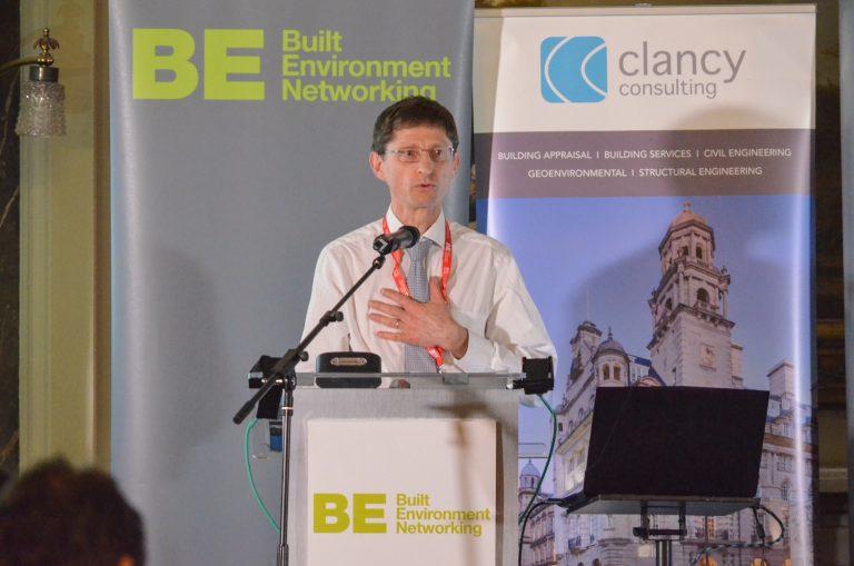 Joel Cardinal Warick University speaking at Birmingham Development Plans 2019