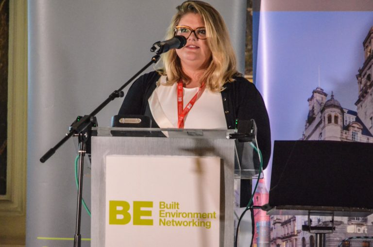 Rebecca Taylor of Long Harbour speaking at Birmingham Development Plans 2019