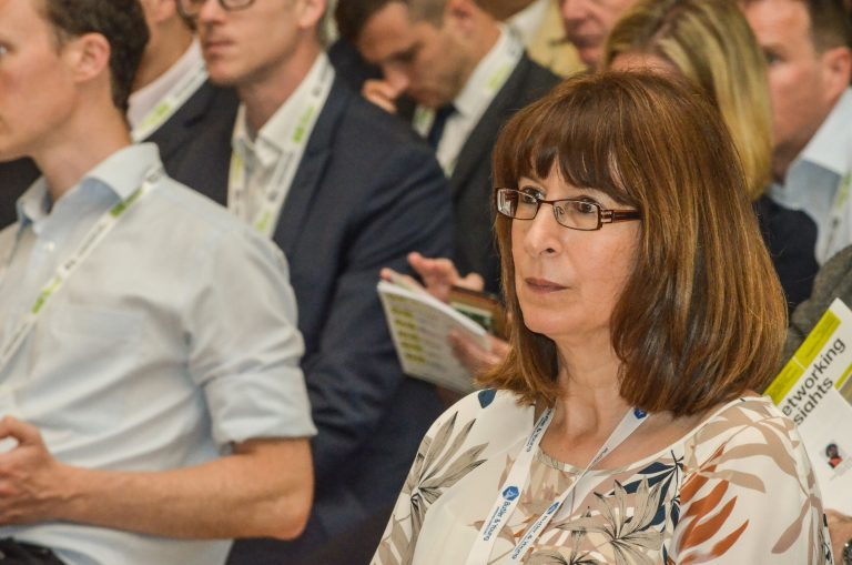 Attendee's watches the speakers at Bristol Development Plans 2019