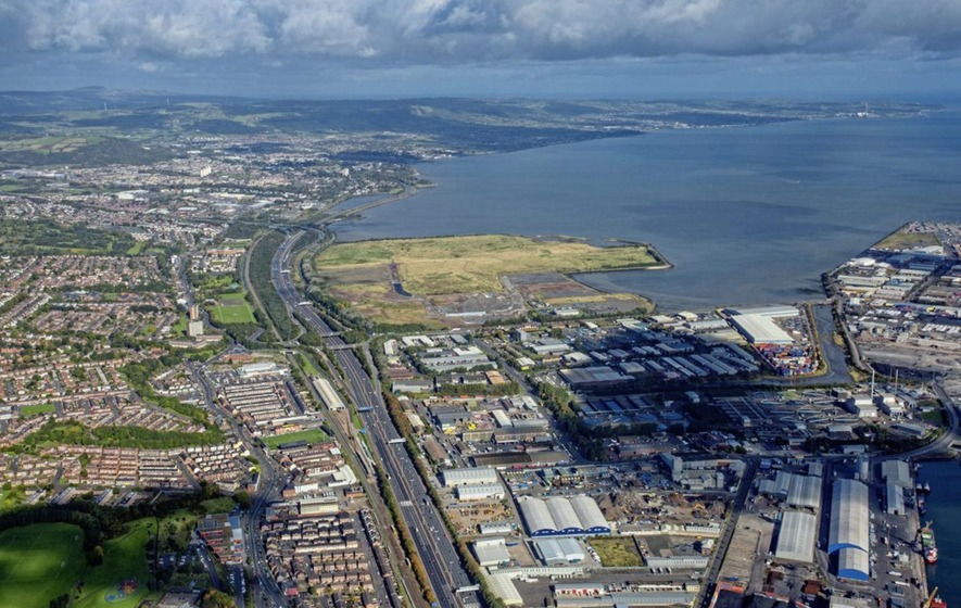 Belfast Northern Ireland Giants Park Belfast City Council Investors Entertainment Hub