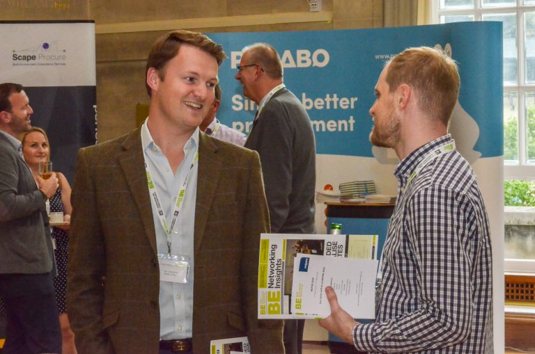 Networking at the Bristol City Hall in Bristol for Bristol Development Plans 2019