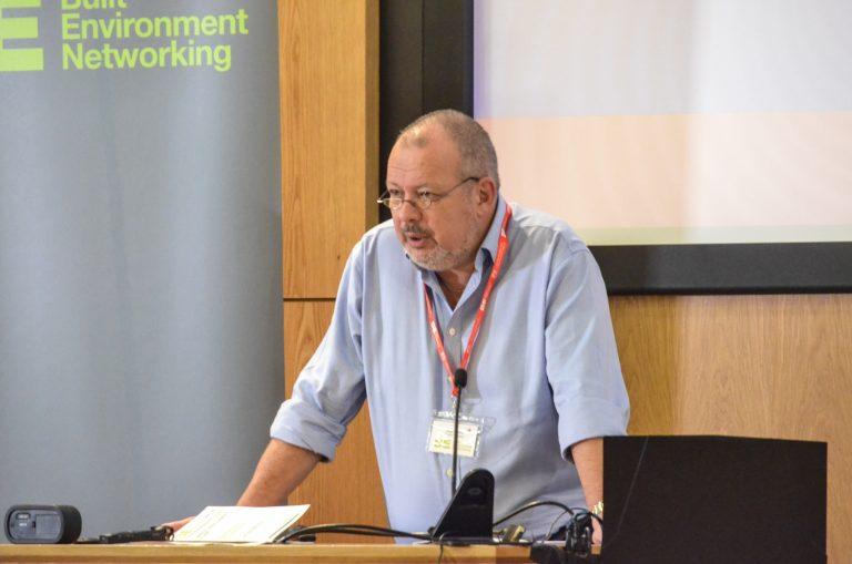 Nigel Holland of Taylor Wimpey speaking at Bristol Development Plans 2018