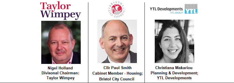 Bristol Council Paul Smith Housing Taylor Wimpey Holland Ralph Divisonal Director Filton Airfield