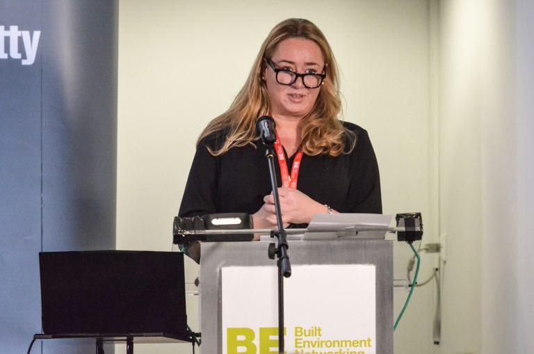 Helen Cadzow of Cadzow estates speaks at North East Development Plans 2019