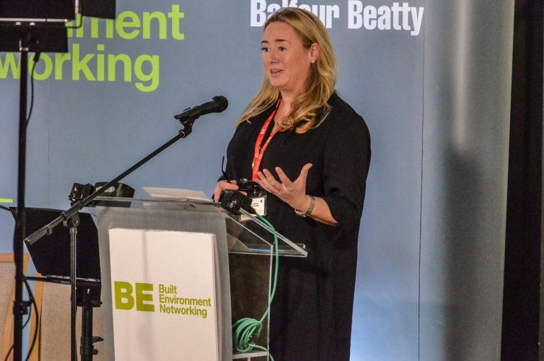 Helen Cadzow speaks at North East Development Plans 2019