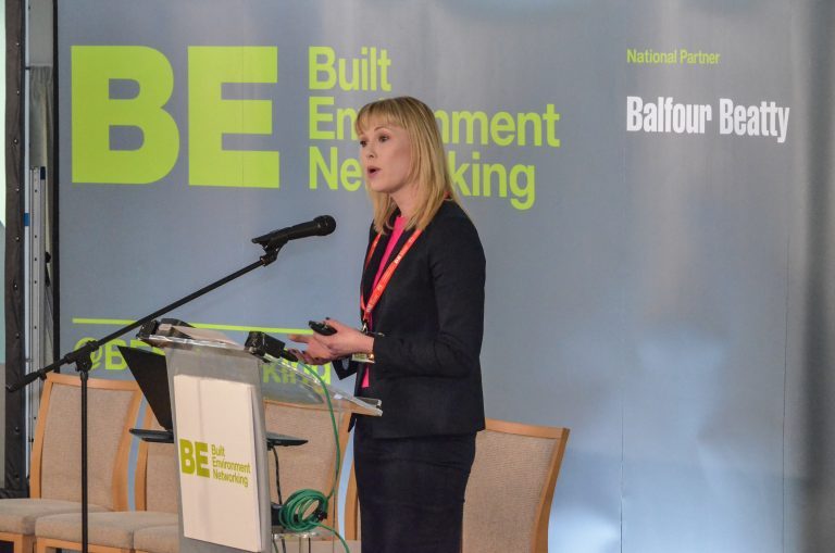 Joanne Peacock Speaks at North East Development Plans 2019