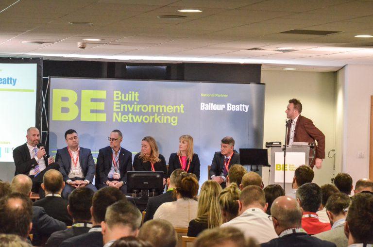 Keith McDougall, Joanne Peacock Iain Garfield, Helen Cadzow, Martin Gannon, Neil McMillan and Matt Christie at North East Development Plans 2019