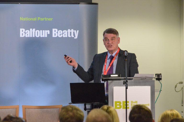 Martin Gannon speaking at North East Development Plans 2019