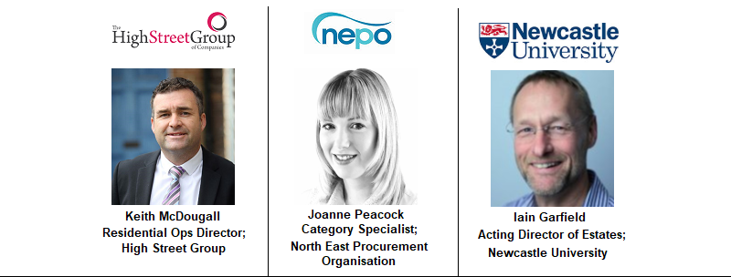Newcastle Speakers 1 NEPO North East Procurement Organisation Joanne Peacock High Street Group Newcastle University