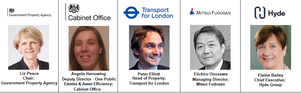 Elaine Bailey London TFL Transport Cabinet Office One Public Estate