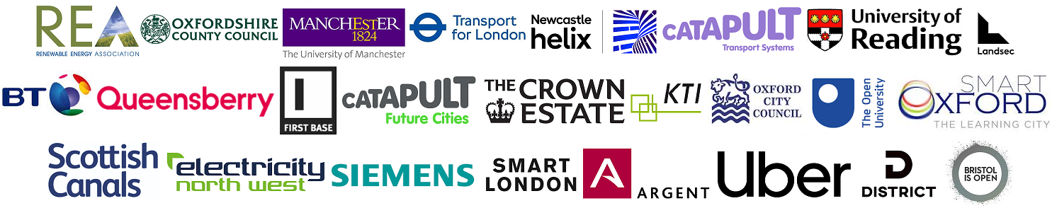 Logos Smart Oxford Tony Hart Michelle Duggan Newcastle Helix Julie Snell Brisol Open Oxfordshire Council Crown Estate London