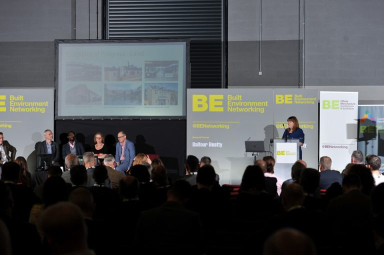 Amanda Keeton of Homes England Manufacturing Conference & Exhibition 2019
