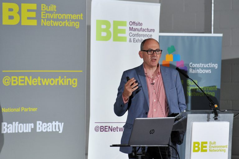 Cllr Paul Smith of Bristol City Council Manufacturing Conference & Exhibition 2019