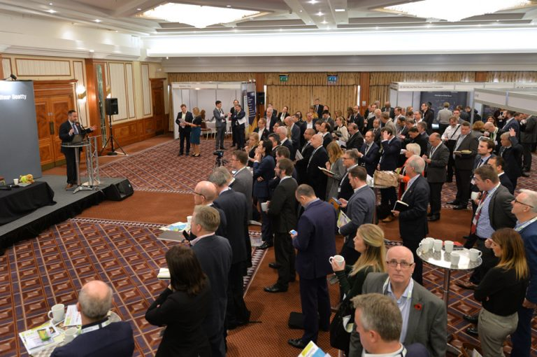 HS2-Economic-Growth-Conference-Audience-Listens-Exhibiting-Presentation-Stage