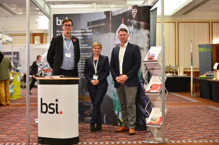 HS2-Economic-Growth-Conference-BSI-Group-Exhibiting-Event-Team-Photo