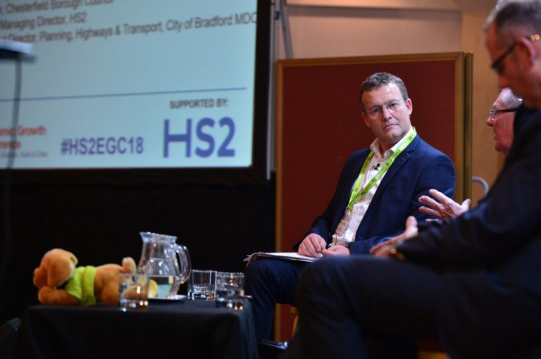 HS2-Economic-Growth-Conference-Phil-Laycock-Host-Speaking-QA-Stations-Effected-HS2-Chesterfield-Warrington