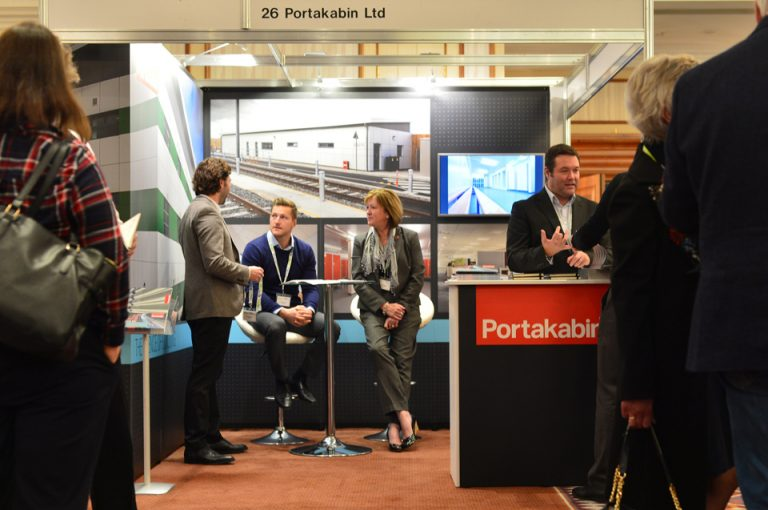 HS2-Economic-Growth-Conference-Portakabin-Networking-Event-Showcasing-Brand-Product-Construction-Property