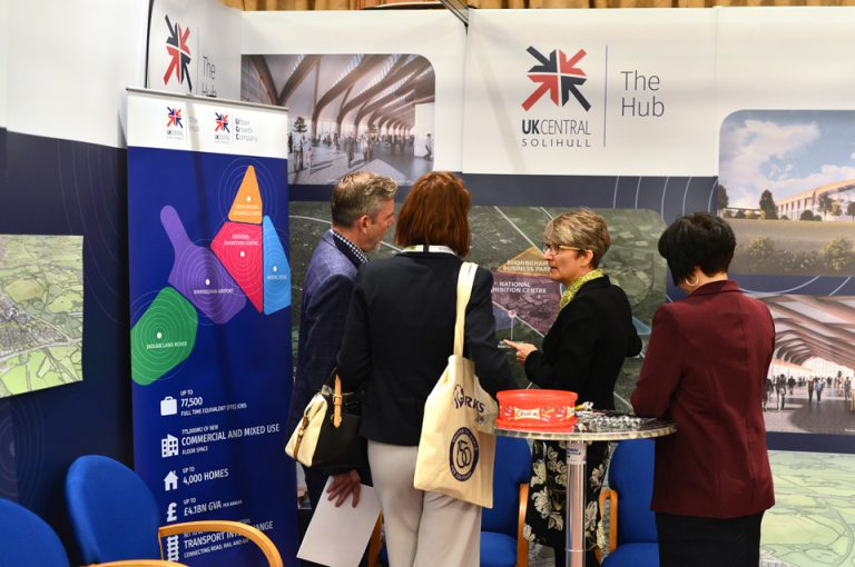 HS2-Economic-Growth-Conference-UGC-Solihull-Interchange-NEC-Exhibiting-Plans-Showcasing