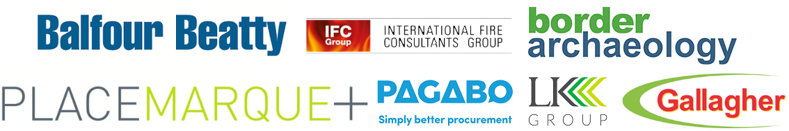 London Property Club Exhibitors Pagabo Gallagher LK Group Border Archaeology