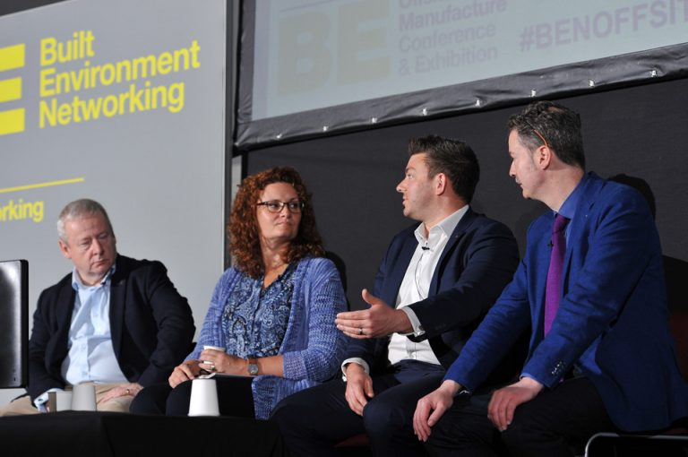 Neil-Punnell-Trudi-Sully-Steve-Eccles-and-Rory-Bergin-at-Manufacturing-Conference-Exhibition-2019