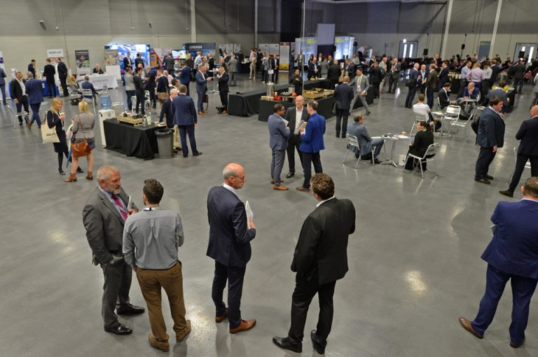 Networking at the Harrogate International Centre Manufacturing Conference & Exhibition 2019